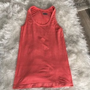 Coral Athleta Workout Top